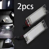 2pcs 12V DC LED LICENSE NUMBER PLATE LIGHT  External Lights Indicators Bulbs UK