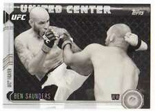 2015 Topps UFC Chronicles Black and White /188 #59 Ben Saunders