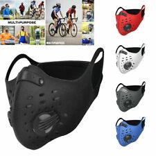 Outdoor Cycling Air Purifying Face Mask Cover Haze Washable Reusable e 817