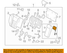 Infiniti NISSAN OEM 08-12 EX35 Rear Seat-Cup Holder 887411BA0C