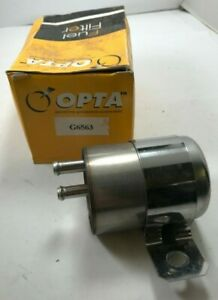 OPTA G6563 Fuel Filter Replaces Parts Plus G485 Fits 88-91 Chrysler Dodge Plymou