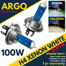 H4 Xenon Super White 100w Bright Bulbs Car 472 Headlight Headlamp Hid 8500k 12v