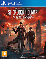 Sherlock Holmes The Devil's Daughter PS4 Playstation 4 BIGBEN INTERACTIVE
