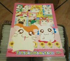 "Tottoko Hamutaro ""Hamtaro"" Japanese Notebook / Memo by Showa Note Rare Kawaii !"