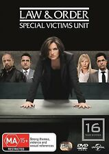 LAW AND ORDER SVU :SPECIAL VICTIMS UNIT SEASON 16 -  DVD & UK Compatible