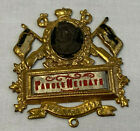 Vtg WWII German Parole Heimat! (Go Home!) Brass? Tin? Plaque Badge