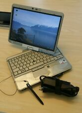 """HP Elitebook 2730p Tablets 12.1"""" Core 2 Duo 1.86GHz 2GB RAM 32GB Wifi WEBCAM"""