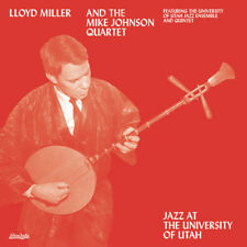 Jazz At The University Of Utah - Lloyd Miller (2018, Vinyl NUOVO)