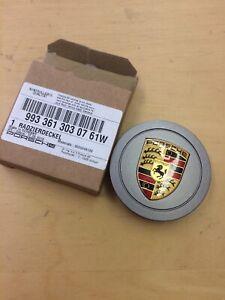 Genuine Porsche 993 996 986 Steel Grey Crested  Centrecap - New