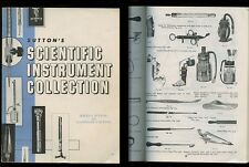 Sutton's Scientific Instrument Collection 1st Ed 96 pg 1964 softcover BOOK