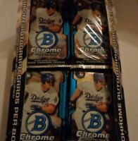 2015 BOWMAN CHROME BASEBALL SEALED HOBBY ***PACKS***  2 AUTO's Within The Box
