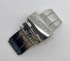 Authentic Bvlgari 16mm Stainless Steel Folding Deployment Buckle OEM
