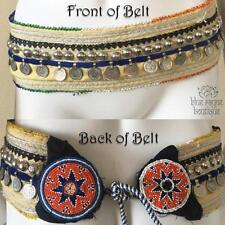 Authentic Vintage Kuchi Medallion Tribal Style Coin Hip Belt Belly Dancing ATS-2