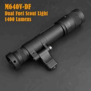 M640V Dual Fuel Scout Light 1400 Lumens Strobe w/ Offset Side Mount 1913 Rails