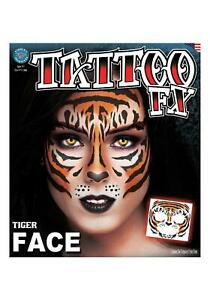 Tiger Face Tattoo FX  Kit