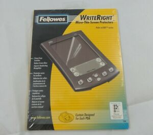 Fellowes WriteRight Micro-Thin Screen Protectors for Palm m505 (98081)