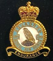 RAF Royal Air Force Enamel Badge 120 Squadron Anti Submarine