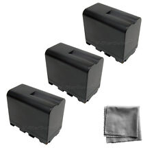 3x NP-F970 NPF970 Battery + BONUS for Sony CCD-TRV99 TRV88 TRV37 TRV58 TRV510