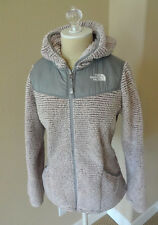 THE NORTH FACE GIRLS Oso Fleece Hoodie Zip Jacket  XL 18 Yrs Purdy Pink Stripe