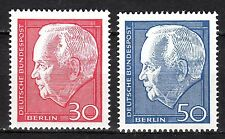 Germany / Berlin - 1967 President Lübke (II) - Mi. 314-15 MNH