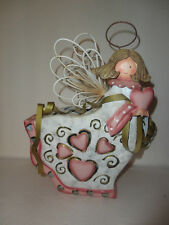 Home Interiors Metal '' ANGEL '' Candle Lantern  Gorgeous  SALE