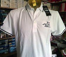 Polo uomo Scuola Nautica Italiana in cotone piquet con logo ricamato art 418801