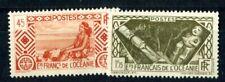 OCEANIE 1939 Yvert 97,113 ** POSTFRISCH TADELLOS gute WERTE (F3855