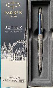 Sky Blue Parker Special Edition London Architecture Ballpoint Pen