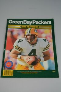 Vintage 1996 Green Bay Packers Yearbook Football Program NFL Favre White Brooks