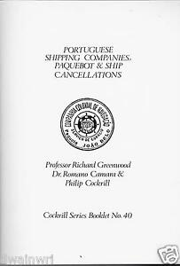 Cockrill Series #40: Portugese Shipping Companies, Paquebot & Ship Cancellations