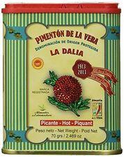 Hot Smoked Paprika La Dalia Pimenton De La Vera Picante DOP Spices Powder Spain