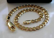 SOLID 9CT GOLD FILLED CURB BRACELET SILLY CLEARANCE PRICE OVER 600 SOLD GB15