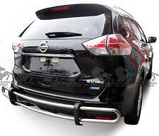 Fits 2011-2017 Nissan Quest Rear Bumper Guard Double Tube Black Horse