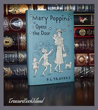Mary Poppins Opens the Door by P. L.  Travers  Illustrated Collectible Hardcover