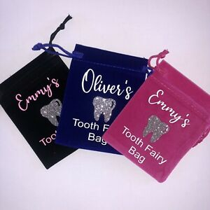 Personalised Tooth Fairy Bag/Pouch