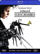 Edward Scissorhands - Tim Burton Film (Blu-ray, 2007) Johnny Depp