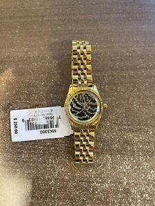 Michael Kors MK3300 Petite Lexington Zebra Pave Dial Women's Watch
