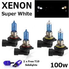 HB3 HB4 100w SUPER WHITE XENON UPGRADE Car Bulbs Set 12v Lexus GS300 IS200 RX300