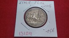 ITALIE 2 LIRE - 1914 - OLD ITALIAN COIN - 13129