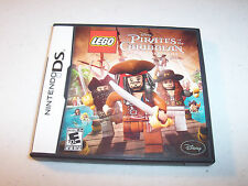 Lego Pirates of the Caribbean (Nintendo DS) Lite DSi XL 3DS 2DS w/Case & Manual