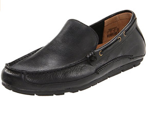 Fossil Dean Driver Leather Black Mens Shoes size US 7.5-13