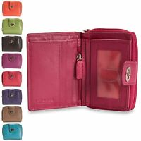 Brunhide Ladies Real Leather Purse Wallet Secure Soft Genuine Womens 220-300