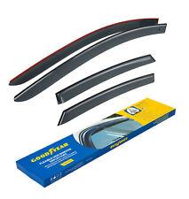 Goodyear Window Sun visors for Ford Focus 2012-2019 Tape-on 4 pcs