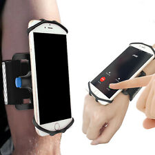 Universal Running Armband Holder For Cell Phone Sports Wristband Phone Mount Set