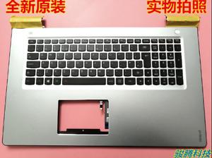 New FOR Lenovo Ideapad 700-17ISK UK Keyboard Backlight Palmrest Cover