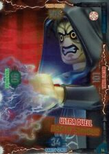 Lego Star Wars Series 2 Trading Cards Card No. 14 Ultra Duel Darth Sidious