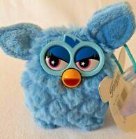 Plush Furby Bleu Peluches Bébés Accroche Vitre Doudous Animé Enfant Jouet Famosa