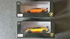 1/43 1:43 cours moulé Lamborghini Murcielago LP670-4 SV GRIS ORANGE JAUNE