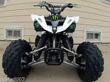 Arctic Cat Mud pro and Prowler HEADLIGHT COVERS GREEN EYES