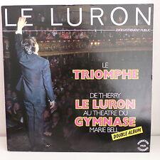 THIERRY LE LURON Au theatre du gymnase Le triomphe LD103 2X33 tours